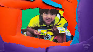 youtube u0027s biggest star is a 5 year old that makes millions opening