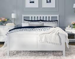 chambre hemnes une chambre lumineuse avec un cadre de lit hemnes home