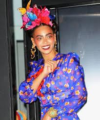 beyonce frida kahlo halloween costume photos