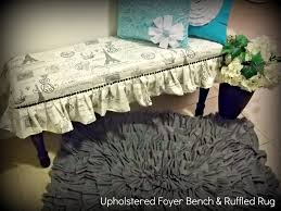 ruffled rug tutorial so you think you u0027re crafty