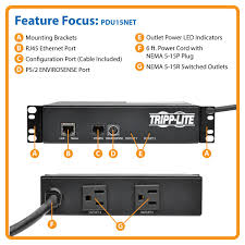 wall mount pdu amazon com tripp lite mini switched pdu 15a 1 4kw single phase