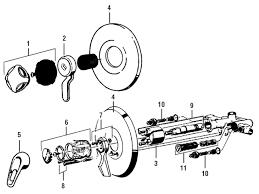 Premier Faucet Parts Mixet Shower Faucet Parts