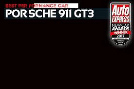 ferrari porsche logo performance car of the year 2017 porsche 911 gt3 new car awards