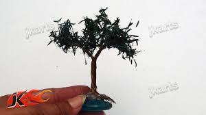 miniature wire tree diy how to make jk arts 107