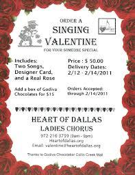 singing telegrams of dallas heart of dallas chorus singingvalentines