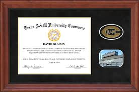 a m diploma frame a m commerce diploma frame in black suede wordyisms