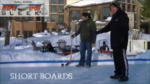 backyard ice rink installation services in chicagoland by iron