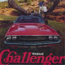 Dodge Challenger 1970 - 1970 dodge challenger brochure