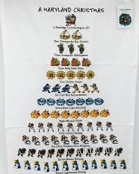 12 days of christmas towels