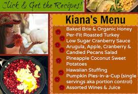 fit thanksgiving menu fitmomtv