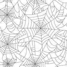 halloween repeating background patterns halloween spider web seamless pattern vector cobweb seamless