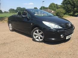 peugeot 307 cc used peugeot 307 cc convertible 1 6 16v s 2dr in leighton buzzard