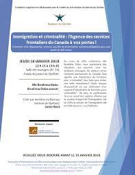 bureau d immigration du québec à immigration et criminalité l agence des services frontaliers du