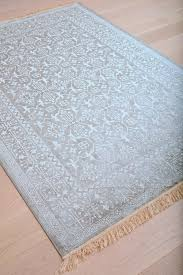 Faded Area Rug Faded Silver Gray And White Worn Style Fringe Area Rug