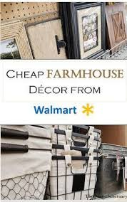 Walmart Home Decor Don T Knock It Til You Try It Walmart Farmhouse Decor Picks