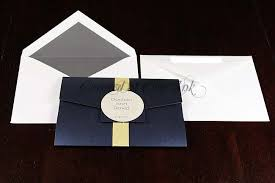 pocketfold invitations navy pocketfold letterpress wedding invitations chic ink