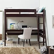 Twin Metal Loft Bed With Desk Dhp Studio Twin Loft Bed 4016427 The Home Depot