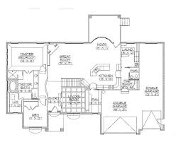 rambler house plans traditional rambler home plan hwbdo75132