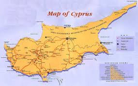 map of cyprus cyprus guide map cyprus mappery