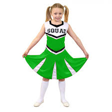 cheerleader halloween costumes green cheerleader costume