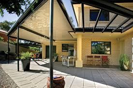 Pergola Roof Options by Economical Flat Roof Verandahs Pergolas And Patios