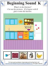 letter k worksheets u0026 activities