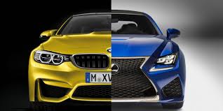 lexus rc f gearbox bbc autos bmw m4 v lexus rc f fight