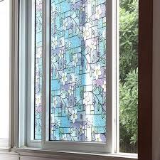 stained glass door film bathroom design marvelous privacy window clings opaque window
