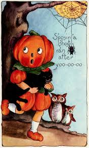 vintage halloween clip art 26 best vintage halloween images on pinterest vintage postcards