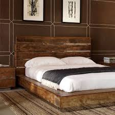 reclaimed wood bed frame plans home design ideas