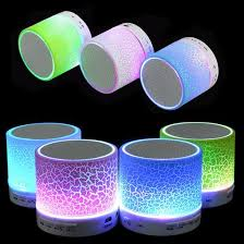 light up portable speaker portable mini led bluetooth speakers action gadget