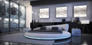 lit 罌 eau waterbed rond circle maisons