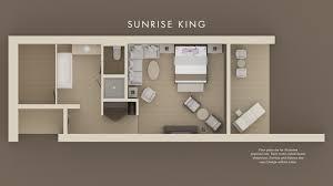 luxury hotel rooms at miraval resort view floor plan