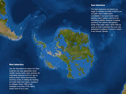 Map Of Antarctica Map Of Sea Level Rise Antarctica Antarctica Cities Threatened By