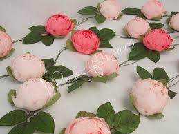 bridal garland bridal garland wedding garland paper flower garland peonies paper