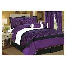 Purple Velvet Comforter Black Satin Comforter Set U2013 Rentacarin Us