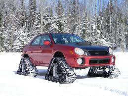 subaru snow wallpaper awd cars rubber track system