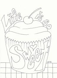 cute cupcake coloring pages 019a6ce3b4b65351320aaaf521698ef3 jpg 600 810 cupcake sweets