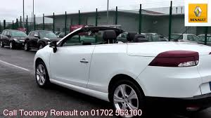 2011 renault megane convertible dynamique 1 4l white po60zsz for