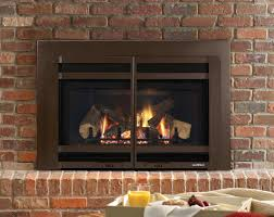 vented gas fireplace logs smell with remote control installation