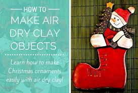 how to make air clay ornaments the pin
