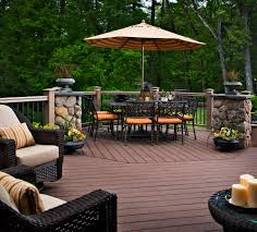 Outdoor Backyard Ideas Lawn Garden Looking Outdoor Deck Ideas For Creative