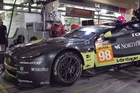 watch the aston martin racing team perform a perfect mannequin