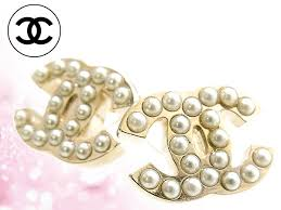 cc earrings import collection rakuten global market and chanel chanel