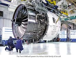 roll royce seletar trent xwb 97 shipped to toulouse for flight testing following in