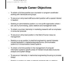 Samples Of Objectives In Resume by Awesome To Do Objective Resume Samples 11 25 Best Ideas About