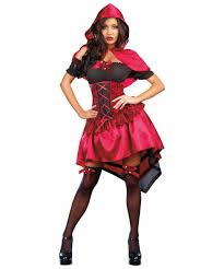 Little Red Riding Hood Makeup For Halloween by Naughty Little Red Riding Hood Wolf Animal Costume