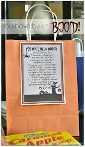 Halloween Boo Bag Poem You U0027ve Been Boo U0027d Archives 100 Things 2 Do