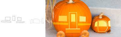 rv pumpkin carving design templates hamiltons rv blog