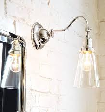 Bathroom Wall Sconce Lighting Sconce Retro Glass Globe Wall Sconce Single Light Bathroom Wall